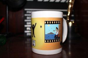 Taza mug de Cine
