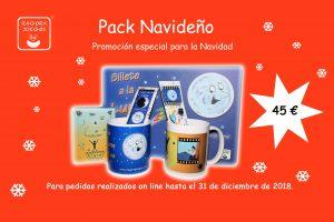 Pack promocional de Navidad
