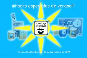 Packs especiales de verano
