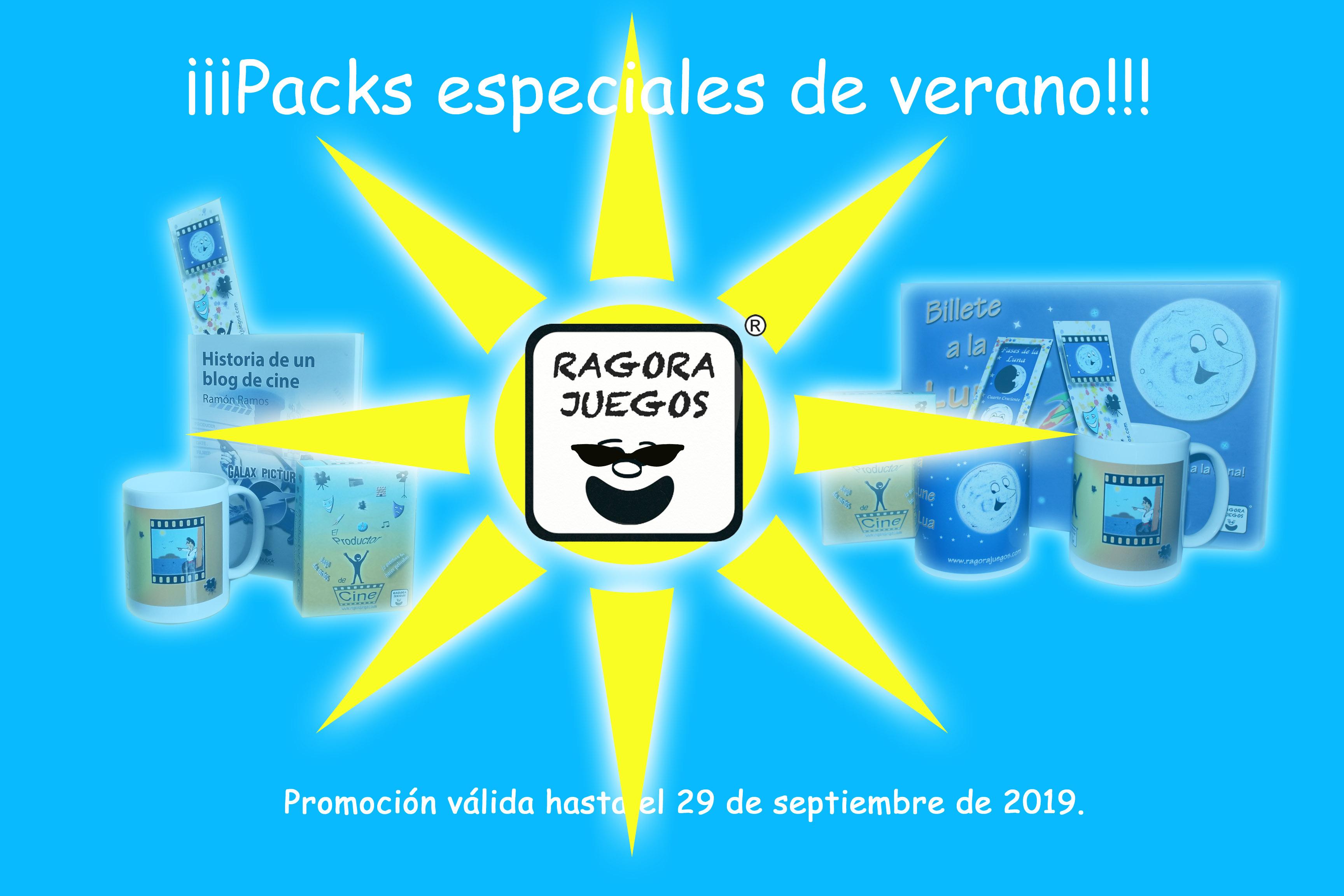 Packs especiales de verano